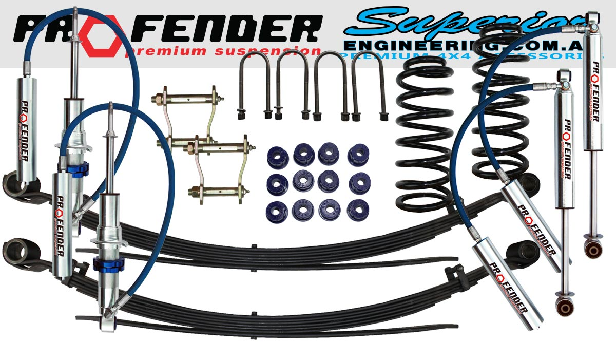 2 Inch Profender Lift Kit to suit Toyota Hilux