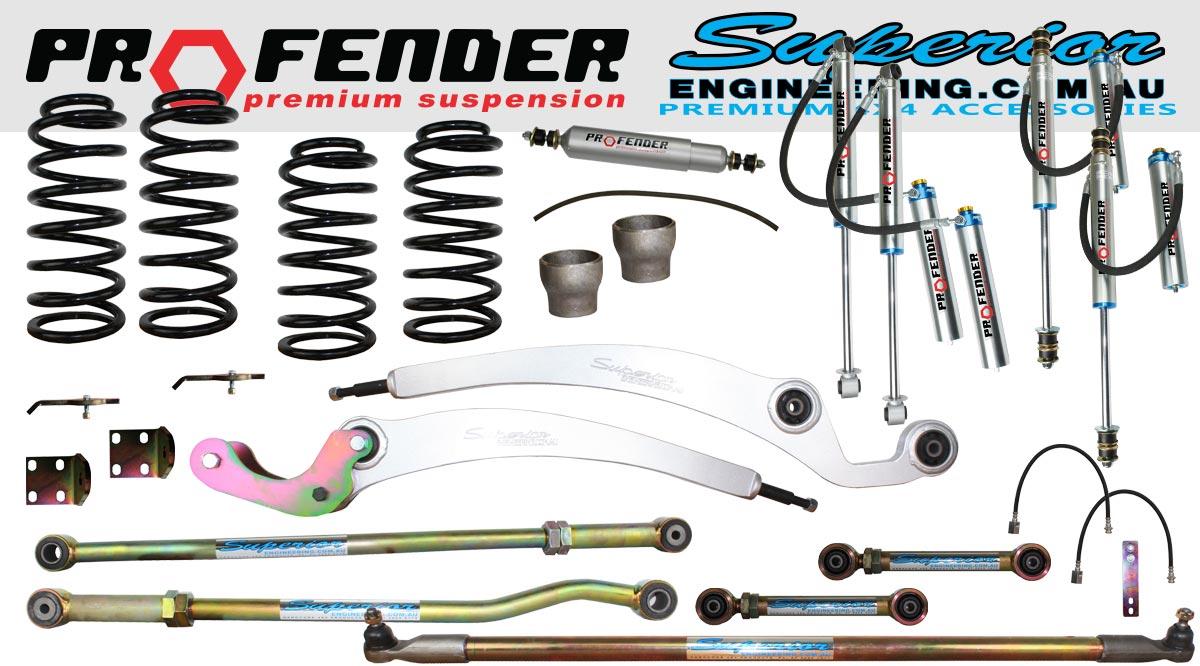 5 Inch Profender Superflex Lift Kit