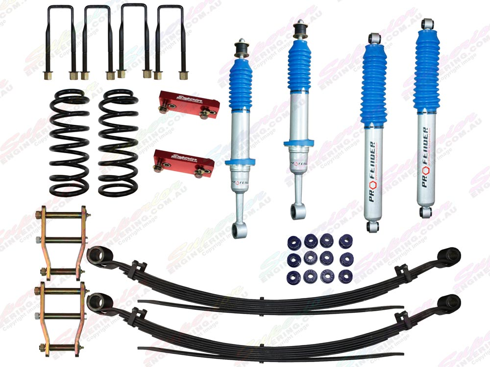 Nitro Gas Profender Lift Kit (Stage 1)