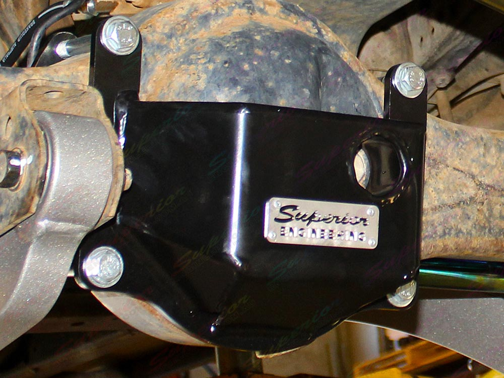 Superior Front Stealth Diff Guard Kit