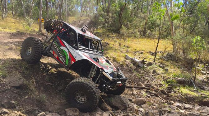 Matt Jillett running the Ultra4 Buggy at round 2 of Aust4 Racing Series 2017