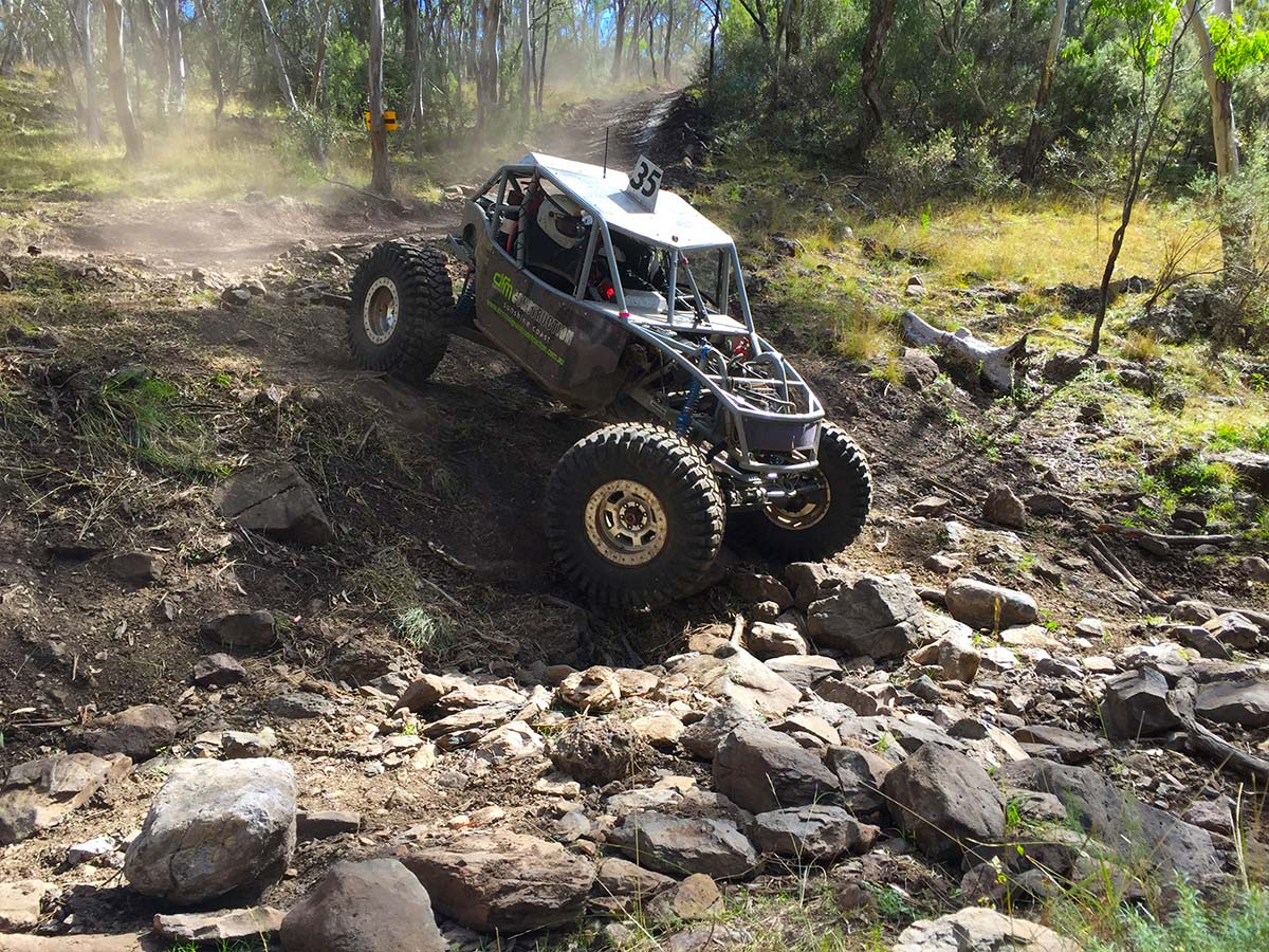 Rhett Bryant running the Ultra4 Buggy at round 2 of Aust4 Racing Series 2017