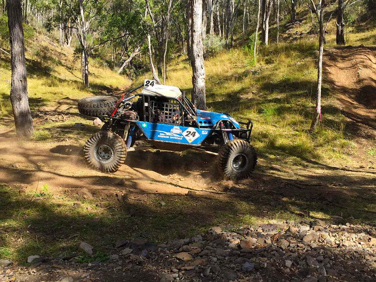 Remy Lowson running the Ultra4 Buggy at round 2 of Aust4 Racing Series 2017